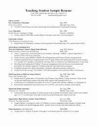 Objective For Teacher Resume Resume Template