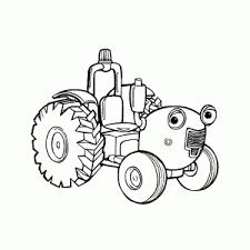 Leuke Tractor Tom Kleurplaten Leuk Voor Kids