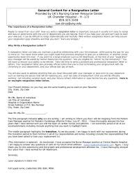 One Week Notice Resignation Letter How To Write A Resignation Letter With A Notice Period
