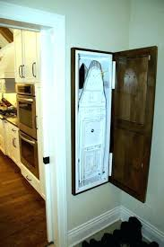 built in ironing board cabinet builtin ironing boards household essentials 1 stowaway in wall ironing board cabinet built in ironing board cabinet home