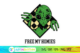Freesvg.org offers free vector images in svg format with creative commons 0 license (public domain). Free My Homies Svg Alien Svg Ufo Svg Graphic By Artinrhythm Creative Fabrica