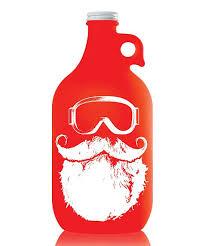 true fabrications ski goggle santa growler
