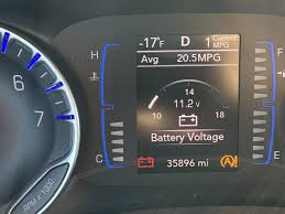 2017 Chrysler Pacifica Dashboard Lights Likely Alternator Failure 2017 Chrysler Pacifica Minivan