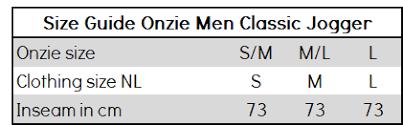 Onzie Yoga Wear Classic Jogger Khaki Herringbone L