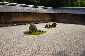 Japanese Rock Garden Zen Rock Garden