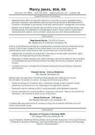 Medical Nurse Sample Resume Magnificent Sample Resume For Staff Nurses In The Philippines As Well As Sample
