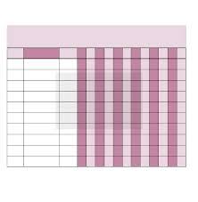 Annual Bill Organizer Chart Edit Fill Sign Online Handypdf
