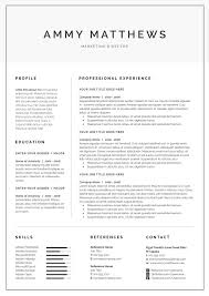 Word Resume Cover Letter Template By Demedev On At Creativemarket