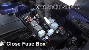 replace a fuse 2012 2016 buick verano 2013 buick verano 2 4l 4 6 replace cover secure the cover and test component