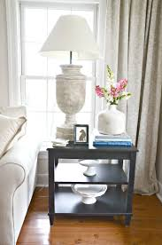 end tables living room. HOW TO STYLE AN END TABLE- 5 No Fail Items To Put On Your End Tables Living Room W