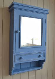 Bathroom Wall Cabinets Uk Shabby Chic Blue Bathroom Wall Cabinet Free Uk Delivery