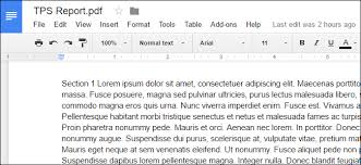 Google Doc Format How To Convert Pdf Files And Images Into Google Docs Documents