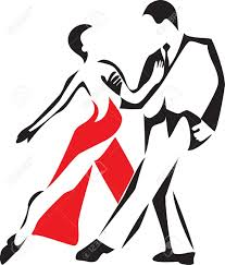Image result for salsa dancing black red animated partners