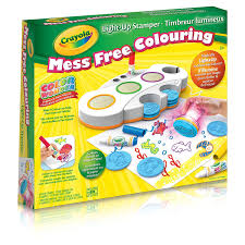 Crayola Crayola Color Wonder Light Up Stamper Mess Free Coloring