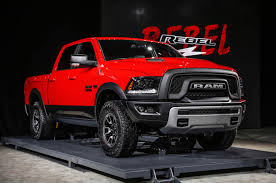DODGE RAM 1500 REBEL TRUCK WINS FOUR WHEELER'S 2016 PICKUP TRUCK OF ...