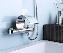 2018 contemporary chrome wall mount waterfall tub faucet with hand shower dh 395 from bibilolo 113 29 dhgate com