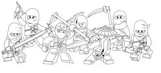 Ninja Lego Coloring Pages Shop Related Products Ninjago Coloring