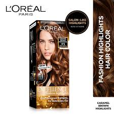 Loreal Paris Excellence Fashion Highlights Hair Color Honey Blonde
