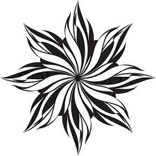 Fine Cool Black And White Designs Patterns Free Stencil Vector Of Throughout Modern Design