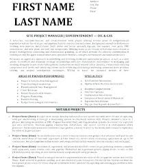 Project Manager Resume Templates Free Best of Architectural Project Manager Resume Sample Prepossessing Also Cv