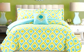 blue and yellow comforter queen blue yellow comforter piece bedding turquoise blue yellow king comforter blue blue and yellow comforter