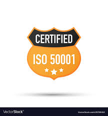 Certified Design Iso 50001 Certified Badge Icon Certification