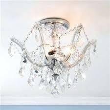 candelabra ceiling light metro 3 chrome finish crystal shabby chic copper