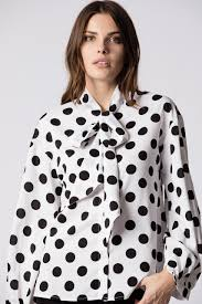 Dotted Tops Designs Polka Dot Blouse Coolmine Community School