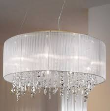 ceiling fan with chandelier crystals home design ideas