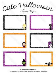Pin By Muse Printables On Name Tags At Nametagjungle Com Halloween