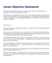 Sales And Marketing Resume Objective Examples For Objectives On Resume Example Career Objective