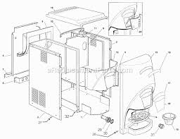 water cooler parts diagram water image wiring diagram ice o matic gemd 270 parts list and diagram ereplacementparts com on water cooler parts diagram