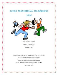 Que es un juego organizado y un ejemplo : Juego Tradicional Colombiano