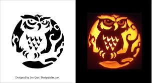 Pumpkin Carving Owl