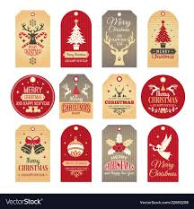 Christmas Labels Holiday Tags And Badges With