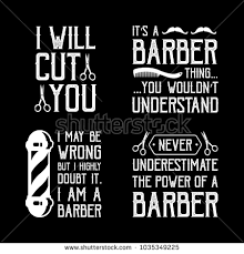 Barber Quotes Enchanting Barber Quotes Sayings 48 Vector Best Stock Vector Royalty Free