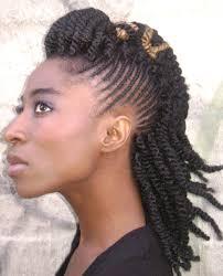 Twists Braids Hairstyle Edgy Natural Hair Twist Braid