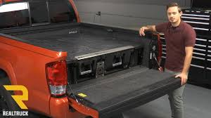 How to Install DECKED Truck Bed Storage System on a 2016 Toyota ...