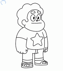 Small Picture Steven From Steven Universe Coloring Page Videosmn Coloring Home