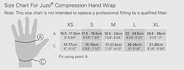 Amazon Com Juzo Compression Hand Wrap Left Black Right