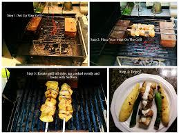 Saffron Swordfish Kabobs with Grilled ...