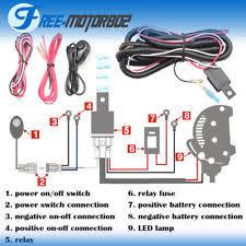 fog light wiring harness universal led light bar fog light wiring harness kit 40a 12v switch relay fuse
