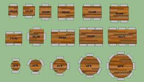 Table Top Size Chart Restaurant Table Tops Restaurant Table Tops Restaurant