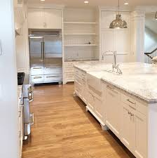 Small Picture Kitchen with super white quartzite This countertop looks like