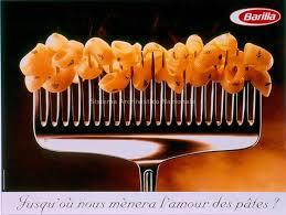 best vintage barilla images classic italian  immagine della campagna stampa barilla francia del 1997