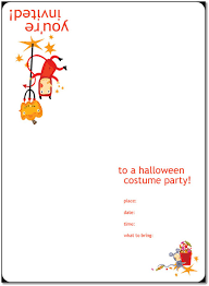Blank Halloween Invitation Templates 8 Free Halloween Party Invitations Templates Word Pdf Pub