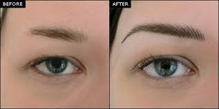you can throw away your eyebrow pencils because we at shumaila s will design the perfectly