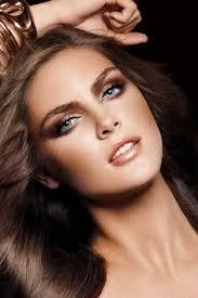 gold bronze makeup