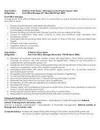 Hotel General Manager Resume Sample Management Summary Job ...