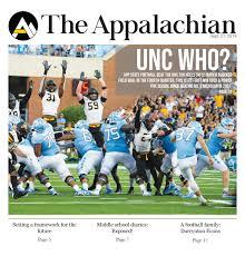 Kenan Stadium Blue Zone Seating Chart The Appalachian 9 27 19 By The Appalachian Issuu